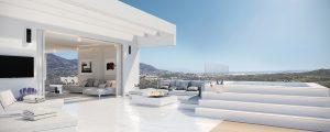 Phoenix Resort La Cala Marbella, vista interior terraza