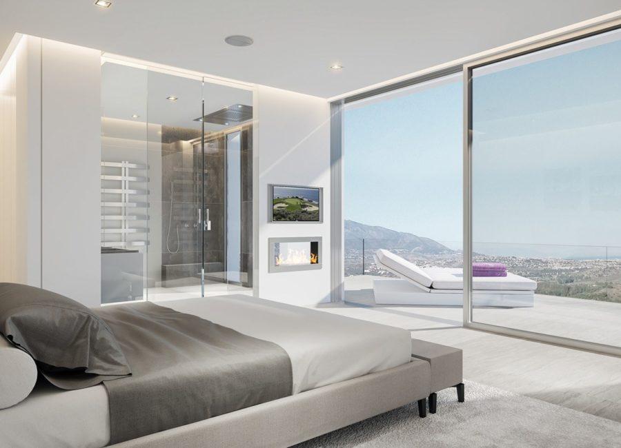 Vista de dia Interior Dormitorio Phoenix Resort la Cala